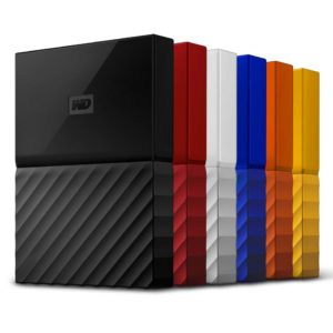 Speicherlösungen der WD MyPassport Serie
